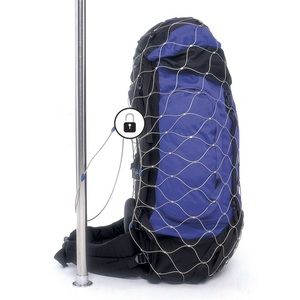 Pacsafe backpack bag protector steel netting